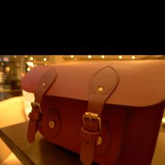 My first SOS satchel in Oxblood.