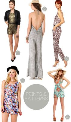 Jump Suits & Rompers | All Sorts of Pretty