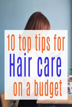 10 tips for hair care on a budget - ways to save money and stiull have fabulous haiur. Beauty on a budget hs never looked so good Life On A Budget, Living On A Budget, Family Budget, Frugal Living Tips, Frugal Tips, Ways To Save Money, How To Make Money, Hair Transplant Cost, Falling Back In Love