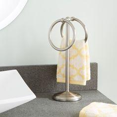 Counter Top Hand Towel Stand Bathroom Accessories Fingertip Oil