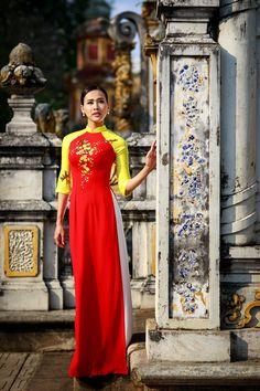 Dương Mỹ Linh duyên dáng áo dài mùa xuân hình ảnh 3