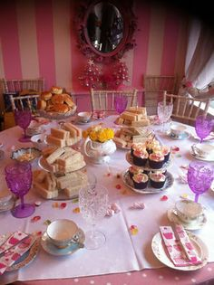Tea party ideas from Emma Kingston