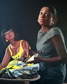 Jeremiah Quarshie's hyper-realistic paintings Hyper Realistic Paintings, Portrait, Inspiration, Biblical Inspiration, Men Portrait, Portraits, Inhalation