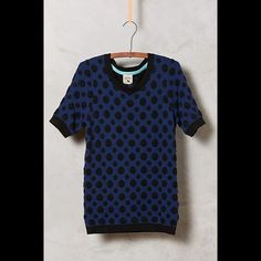 Dotted Jacquard Pullover NWT - by Yumi London for Anthropologie Anthropologie Sweaters Crew & Scoop Necks