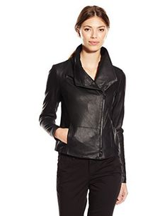 Vince's signature leather jacket, the scuba is a key wardrobe staple for its versatility and flattering shape. This version features feather leather, which is incredibly light and soft. The slim fit and ribbed panels create a tailored look.       Famous Words of...  More details at https://jackets-lovers.bestselleroutlets.com/ladies-coats-jackets-vests/casual-jackets/product-review-for-vince-womens-feather-leather-scuba-jacket/