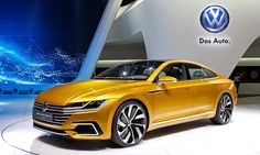 Very soon for the public will presented the new model Volkswagen CC. Europe will have the first access to this car. Volkswagen in the new CC aims to become on a Volkswagen Models, Vw Arteon, Vw Cc, Geneva Motor Show, Sport Cars, Porsche, Vehicles, Concept, Taiwan