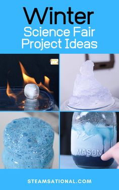 The annual science fair can be a drag. But with these winter science fair project ideas, kids and parents will have fun together making winter science experiments.