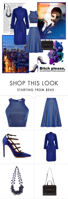 """""""Royal... only the blue!!"""" by angelicallxx ❤ liked on Polyvore featuring Nicki Minaj, Jonathan Simkhai, Tabitha Simmons, Cédric Charlier, Heaven Tanudiredja, Proenza Schouler and RoyalBlue"""
