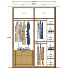 Closet elevation 4