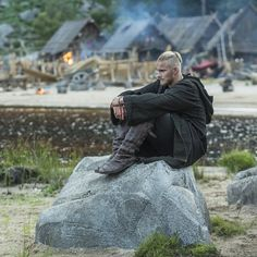 "Bjorn, son of Lagerte and Ragner, of ""Vikings"" on the History Channel"