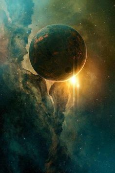 Earth* as seen from outer space. A jewel in the universe star system space universe cosmos patterns in nature colour stars suns planets Cosmos, Space Planets, Space And Astronomy, Galaxy Space, Sci Fi Art, Galaxy Wallpaper, Science And Nature, Outer Space, Sun In Space