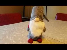 Tutorial - How to Make a Christmas Gnome - YouTube