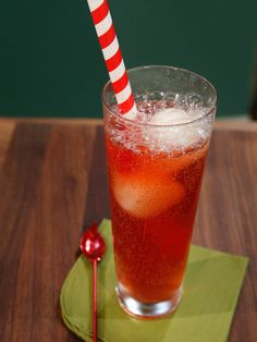 Apple Sorbet, Scotch and Soda Float recipe from Geoffrey Zakarian via Food Network