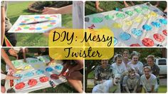 DIY: Messy Twister ft Friends Educational Activities, Activities For Kids, Messy Twister, Youth Games, Friends Youtube, Summer Diy, Science Experiments, Young Women, Cool Kids