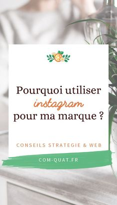 Découvrez tous les avantages d'#instagram pour votre #marque : donnez lui de la #visibilité #digitale en créant des #visuels impactant à base de #photo pour votre #communauté Blog Sites, Marketing, Business, Nature, Client, Girl Group, Attitude, Blogging, Social Media Tips