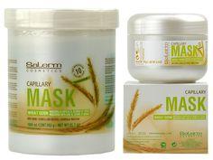 GERME DI GRANO Maschera nutriente specifica per il trattamento dei capelli in cattive condizioni.
