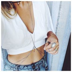 dat necklace. and that tummy while we're at it.