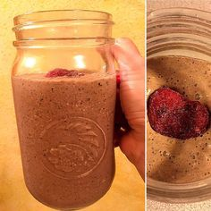 Loving that it's FRIDAY!...and loving my berry chocolate smoothie  #finallyfriday