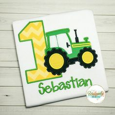 Tractor Birthday Shirt  Tractor Shirt  Birthday Tractor