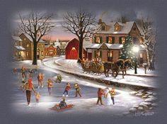 small town christmas | small town christmas | Christmas-Traditions & Decor | Pinterest