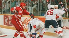87 Canada Cup Game 3 - Gretzky to Lemieux