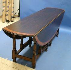 Amazon.com: Antique Style Oak Gate Leg Dining Table: Home & Kitchen