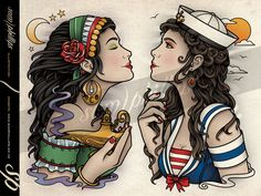 gypsy tattoo | Tumblr