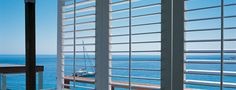 Shutters are a great choice if you still want to see outside
