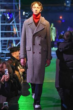Raf Simons showed his Fall/Winter 2015 collection during Paris Fashion Week.