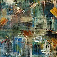 'Kente Rhythms, Freedom of Colors IV'