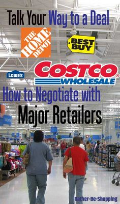 Learn How to Negotiate the Price at Retailers
