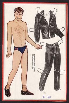John Travolta Grease 1978 Scarce Vintage Paper Doll issued in Sweden   eBay