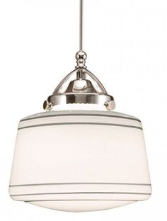 Plymouth 1 Light Schoolhouse Pendant