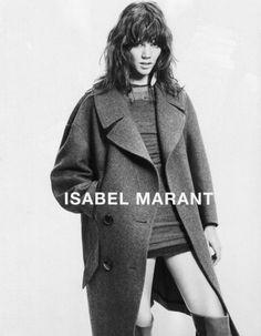Campagne Isabel Marant - Freja Beha, le retour du top androgyne - Elle
