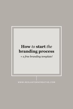 How do you go about creating an identity for your brand? Just follow these four easy steps ...