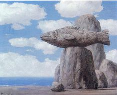 Rene Magritte - Collusion, 1965