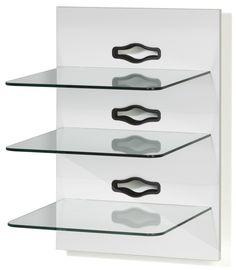 Hifi-Wandhalterung XENO 3 - weiß - Klarglas - 3 Ablagen Jetzt bestellen unter: https://moebel.ladendirekt.de/wohnzimmer/tv-hifi-moebel/tv-lowboards/?uid=40c6c61f-95e1-5d08-8244-3c990e37b686&utm_source=pinterest&utm_medium=pin&utm_campaign=boards #tvlowboards #wohnzimmer #tvhifimoebel