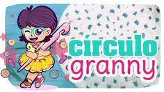 Círculo Granny - TUTO crochet #03 #crochet #círculo #granny