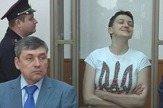 Ukranian folk hero and pilot, Lt. Nadiya Savchenko, was sentenced to 22 years in a Russian jail today. She has threatened Russia with a hunger strike.