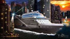 Photoshop Artwork #07 - City cruise :: Ym.d_story
