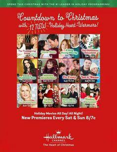 Hallmarks Christmas Movie List