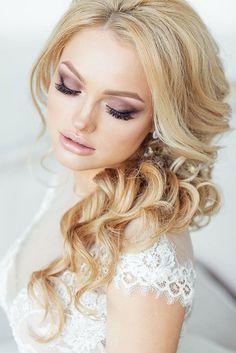 long hairstyle for wedding - Deer Pearl Flowers