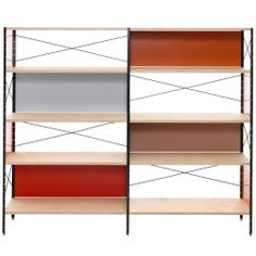 Eames Storage Unit 4 HE kast | Charles en Ray Eames | Vitra | €2563,- | Aluminium (metaal), Berken (hout), Essen (hout) | -> Klassieker.