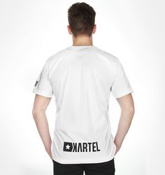 T-Shirt White FLAG --> Shop at: www.hustla.pl/kartel  www.kartelbrand.com
