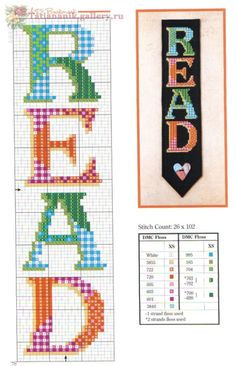 Ideas For Crochet Bookmark Watches Cross Stitch Bookmarks, Cross Stitch Books, Crochet Bookmarks, Cross Stitch Cards, Cross Stitch Borders, Counted Cross Stitch Patterns, Cross Stitch Designs, Cross Stitching, Cross Stitch Embroidery