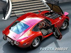 Classic Car News Pics And Videos From Around The World Classic Japanese Cars, Classic Cars, Vintage Cars, Antique Cars, Toyota 2000gt, Airplane Car, Bugatti, Maserati, Japan Cars