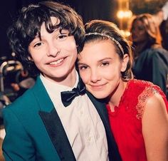 Imagem de stranger things, finn wolfhard, and millie bobby brown