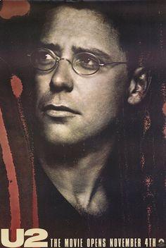 U2: Rattle and Hum Movie Poster - Adam Clayton