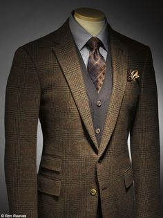 Glen plaid jacket. http://www.moderngentlemanmagazine.com/mens-suit-patterns/