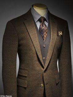 Glen plaid jacket. http://www.moderngentlemanmagazine.com/mens-suit-patterns/